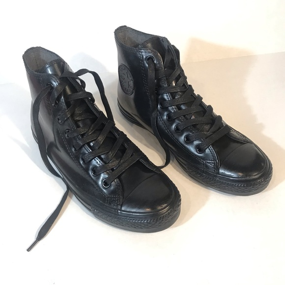 Converse Other - CONVERSE All STAR Patent Leather High Top Sneaker